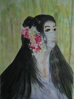 Painting - Dignity by Wanvisa Klawklean