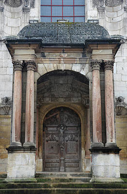 Photograph - Dijon Doorway by Carla Parris