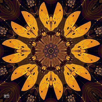 Digital Art - Dijon Mustard Flower by Jim Pavelle