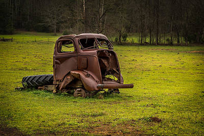 Photograph - Dilapidated by Randy Walton
