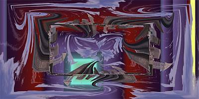Digital Art - Dilemma At High Tide by Tim Allen