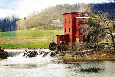 Photograph - Dillard Mill 4 by Marty Koch