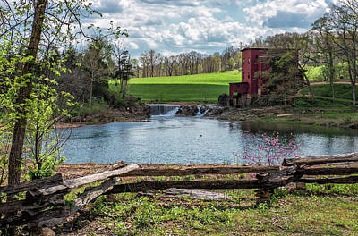 Photograph - Dillard Mill by Linda Shannon Morgan