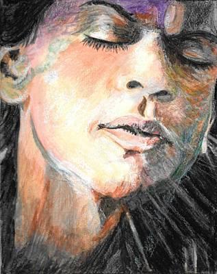Khan Mixed Media - Dilwale Emotion-king Khan Shtyle by Linda Prediger