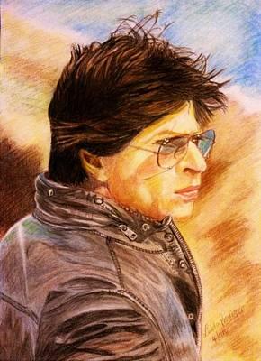 Khan Mixed Media - Dilwale-raj Randhir Bakshi/kaali by Linda Prediger