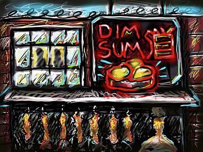 Digital Art - Dim Sum by Joe Bloch