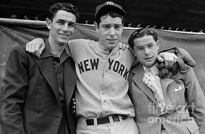 Photograph - Dimaggio Brothers by Pg Reproductions
