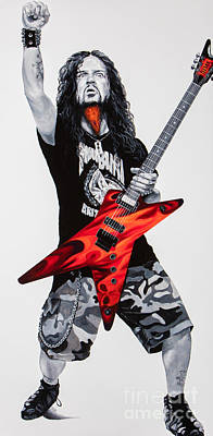 Dimebag Forever Art Print by Igor Postash