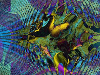 Digital Art - Dimensional Door by Kiki Art