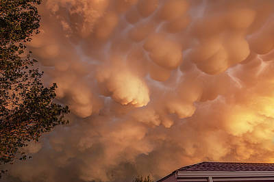 Photograph - Dimmit Storm Mammatus by Scott Cordell
