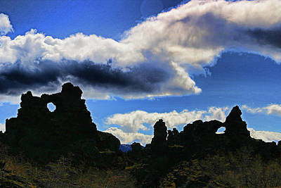 Photograph - Dimmuborgir # 5 by Allen Beatty
