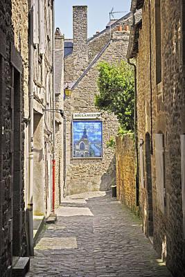 Digital Art - Dinan Alley by Gene Norris