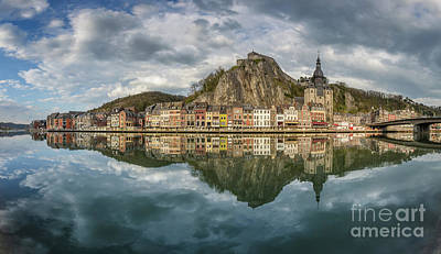 Photograph - Dinant Reflections by JR Photography