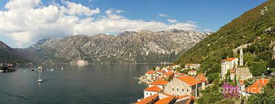 Dinaric Alps And Kotor Bay Art Print by Matt Tilghman