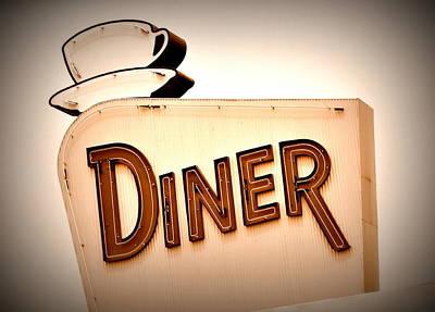Photograph - Diner by Andrea Platt