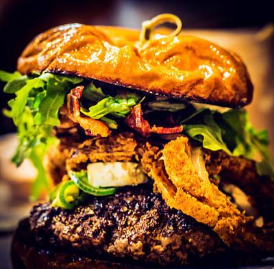 Hamburger Photograph - Dinner by Hyuntae Kim