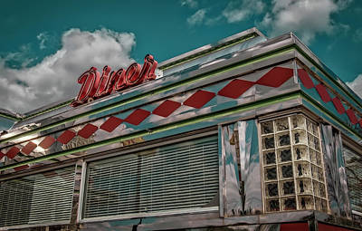 Photograph - Diner by Jerry Golab
