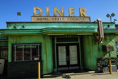 Photograph - Diner by Robert Hebert