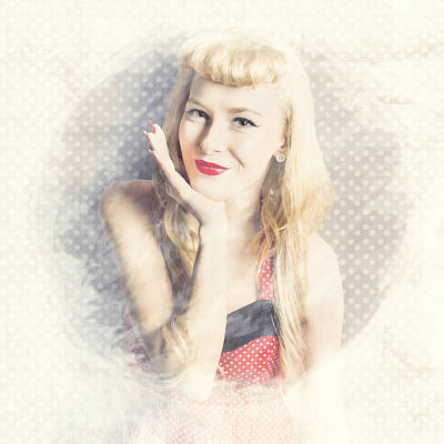 Photograph - Diner Window Pin Up  by Jorgo Photography - Wall Art Gallery