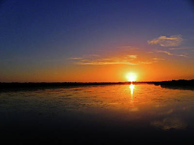 Photograph - Ding Darling Sunset by Judy Wanamaker