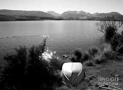 Photograph - Dinghy By The Lake by Nareeta Martin