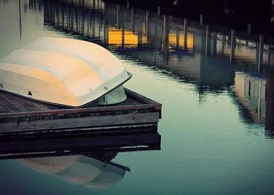 Photograph - Dinghy Docked by Patricia Strand