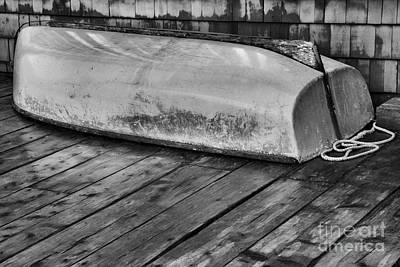 Photograph - Dinghy On The Dock by Adam Jewell