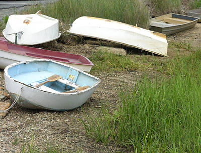 Dinghy Art Print by Peter Williams