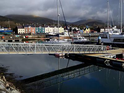 Photograph - Dingle Marina Reflections          by Noel O Neill