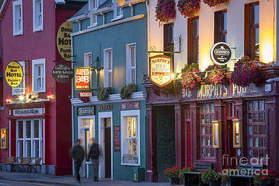 Photograph - Dingle Pubs by Brian Jannsen