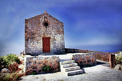 Photograph - Dingli Chapel by Pennie  McCracken