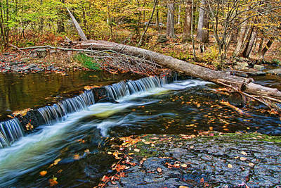 Photograph - Dingman's Creek 2  - Milford P A by Allen Beatty