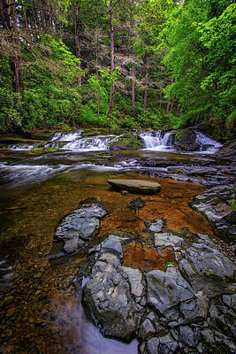 Northeastern Photograph - Dingmans Creek by Rick Berk