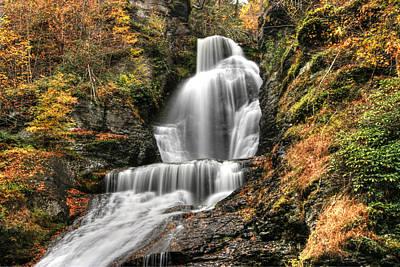 Photograph - Dingman's Falls 2  - Dingman's Ferry P A by Allen Beatty