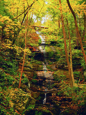 Photograph - Buttermilk Falls 2 by Raymond Salani III