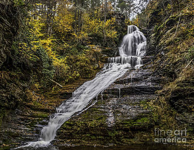Photograph - Dingmans Falls by Nick Zelinsky