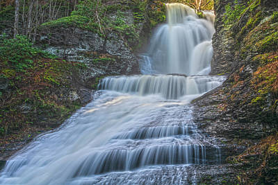Photograph - Dingmans Falls Perspective by Angelo Marcialis