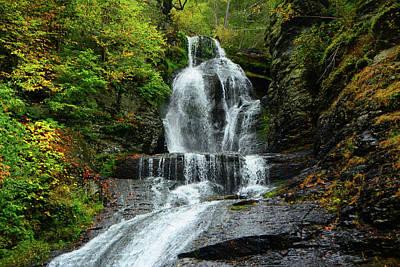 Photograph - Dingmans Falls Ranges by Raymond Salani III
