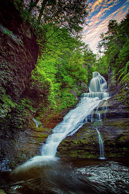 Northeastern Photograph - Dingmans Falls by Rick Berk