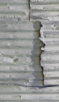 Dings, Dents And Deterioration Art Print by Claudia O'Brien