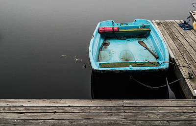 Photograph - Dingy On The Docks by Vic Bouchard
