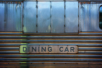 Dining Car Art Print by Bud Simpson