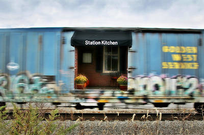 Photograph - Dining Car by Lorella Schoales