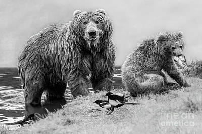 Photograph - Dining, Kodiak Style by Tim Moore