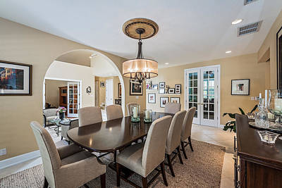 Photograph - Dining Room by Jody Lane