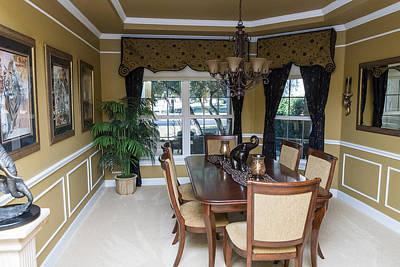 Photograph - Dining Room by John Johnson