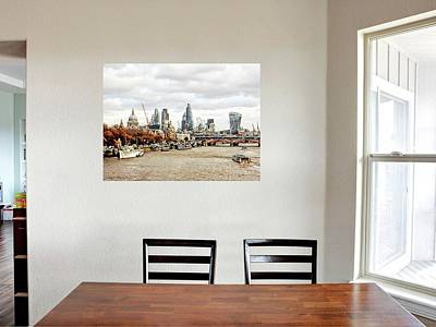Photograph - Dining Room With City View by Dorothy Berry-Lound