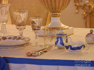 St. Petersburg Photograph - Dining With Russian Royalty by Margaret Brooks