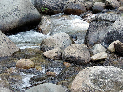 Photograph - Dinkey Creek Currents 4 by Eric Forster