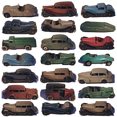 Photograph - Dinky Car Park by John Colley